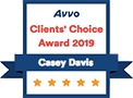 Avvo, Clients' Choice Award 2019